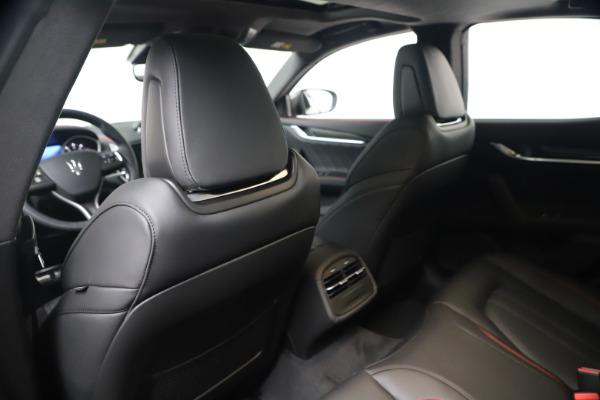New 2020 Maserati Ghibli S Q4 GranSport for sale $95,785 at Alfa Romeo of Westport in Westport CT 06880 19