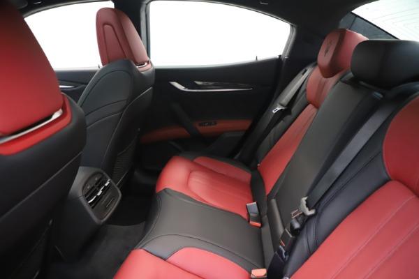 New 2020 Maserati Ghibli S Q4 GranSport for sale $94,785 at Alfa Romeo of Westport in Westport CT 06880 19