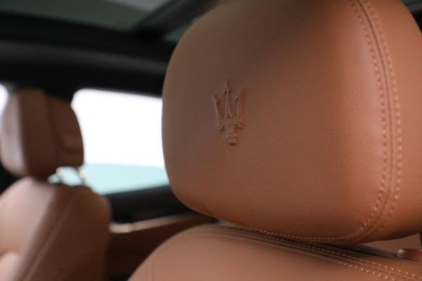New 2020 Maserati Levante Q4 for sale $81,035 at Alfa Romeo of Westport in Westport CT 06880 28