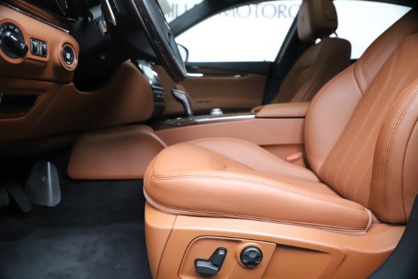 New 2020 Maserati Quattroporte S Q4 GranLusso for sale $117,935 at Alfa Romeo of Westport in Westport CT 06880 14