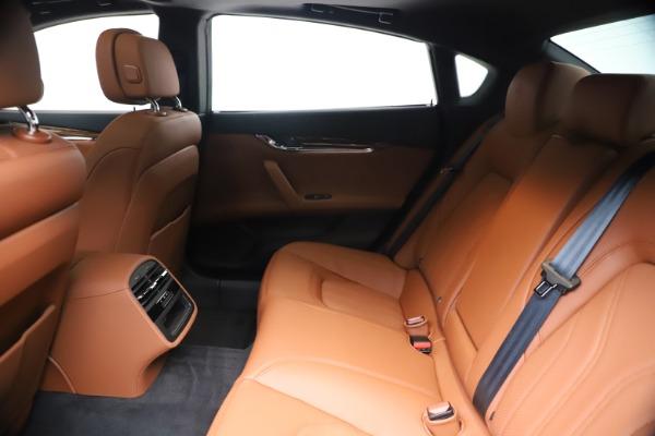 New 2020 Maserati Quattroporte S Q4 GranLusso for sale $117,935 at Alfa Romeo of Westport in Westport CT 06880 19