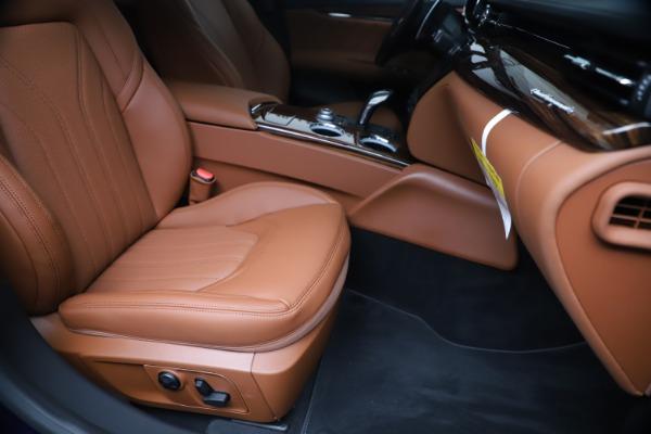 New 2020 Maserati Quattroporte S Q4 GranLusso for sale $117,935 at Alfa Romeo of Westport in Westport CT 06880 24