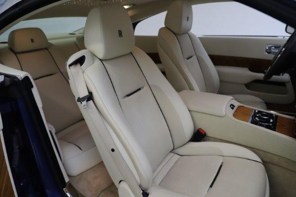 Used 2015 Rolls-Royce Wraith for sale $169,900 at Alfa Romeo of Westport in Westport CT 06880 12