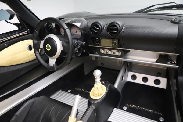 Used 2007 Lotus Elise Type 72D for sale $39,900 at Alfa Romeo of Westport in Westport CT 06880 23