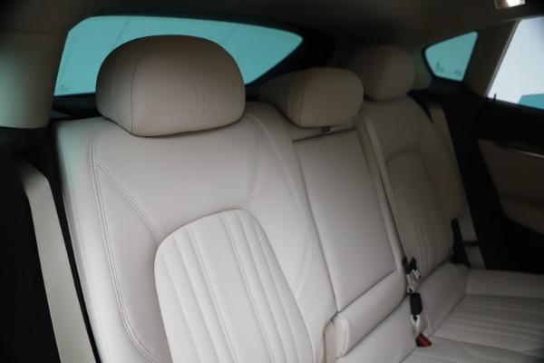 New 2020 Maserati Levante S Q4 GranLusso for sale $97,335 at Alfa Romeo of Westport in Westport CT 06880 26