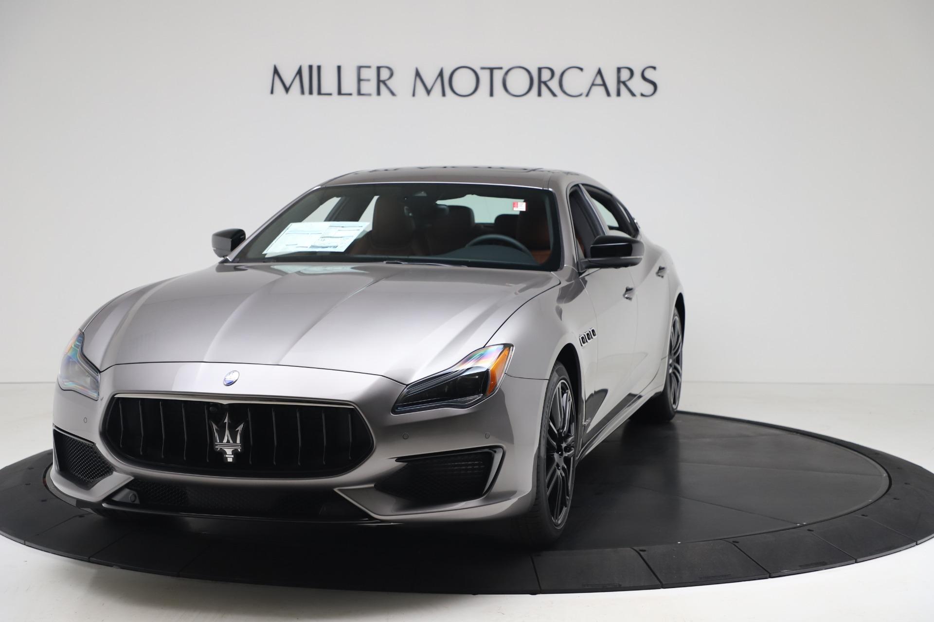New 2020 Maserati Quattroporte S Q4 GranSport for sale $120,285 at Alfa Romeo of Westport in Westport CT 06880 1