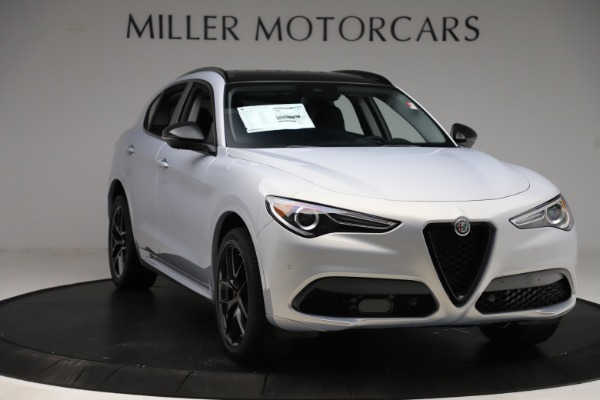 New 2020 Alfa Romeo Stelvio Ti Q4 for sale Sold at Alfa Romeo of Westport in Westport CT 06880 11