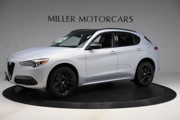 New 2020 Alfa Romeo Stelvio Ti Q4 for sale $54,745 at Alfa Romeo of Westport in Westport CT 06880 2