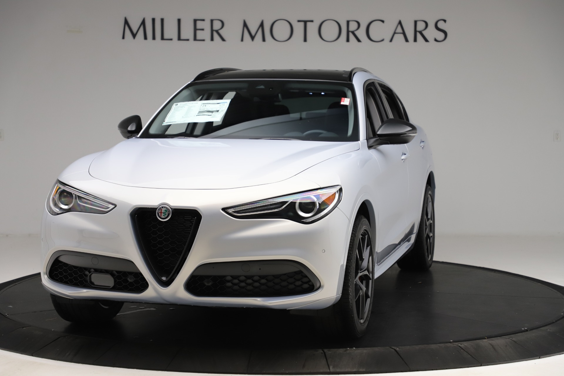 New 2020 Alfa Romeo Stelvio Ti Q4 for sale $54,745 at Alfa Romeo of Westport in Westport CT 06880 1