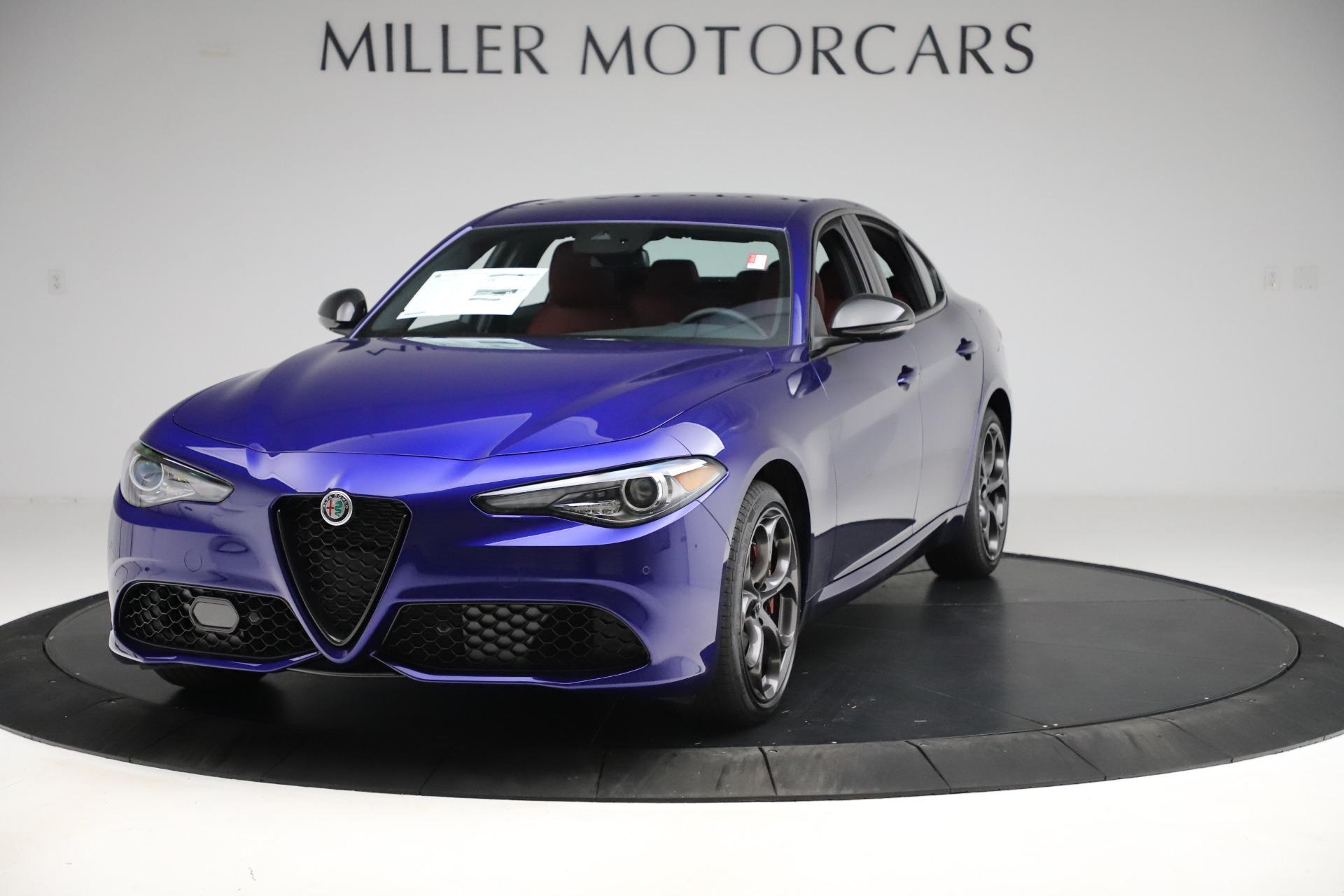 New 2020 Alfa Romeo Giulia Ti Sport Q4 for sale $50,445 at Alfa Romeo of Westport in Westport CT 06880 1