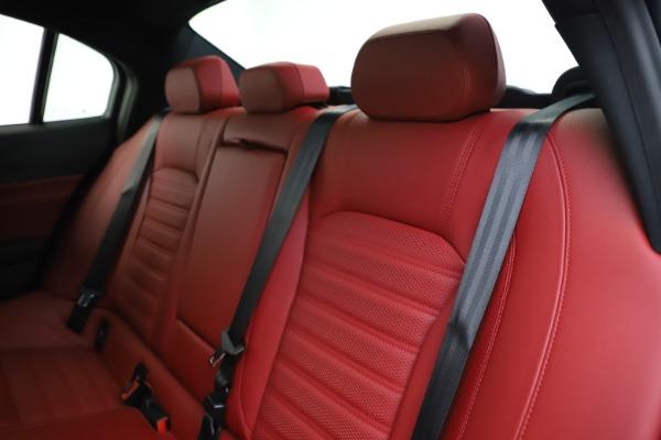 New 2020 Alfa Romeo Giulia Ti Sport Q4 for sale $51,995 at Alfa Romeo of Westport in Westport CT 06880 19
