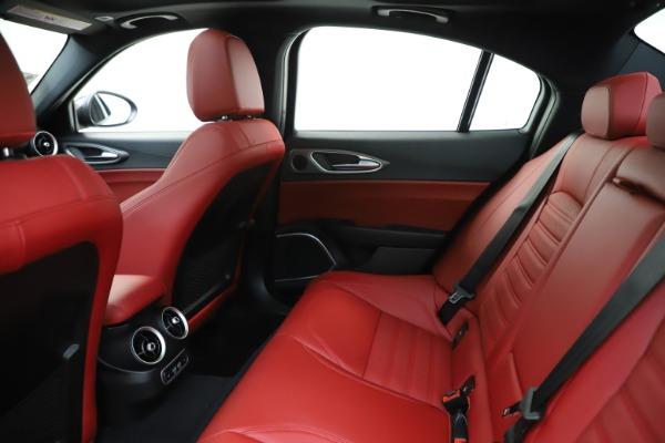 New 2020 Alfa Romeo Giulia Ti Sport Q4 for sale $51,995 at Alfa Romeo of Westport in Westport CT 06880 20