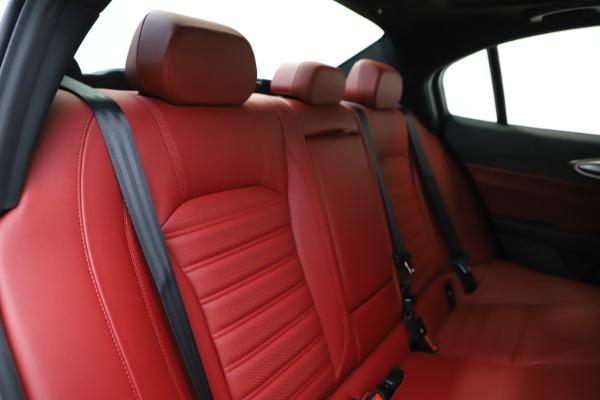 New 2020 Alfa Romeo Giulia Ti Sport Q4 for sale $51,995 at Alfa Romeo of Westport in Westport CT 06880 27