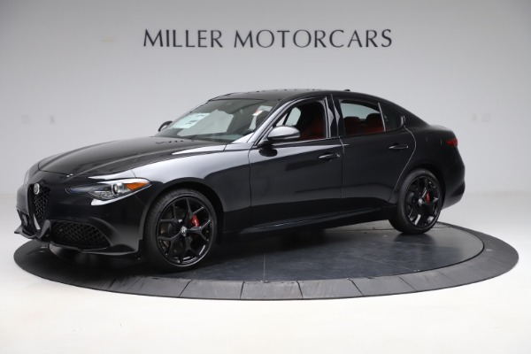 New 2020 Alfa Romeo Giulia Ti Sport Q4 for sale $52,595 at Alfa Romeo of Westport in Westport CT 06880 2