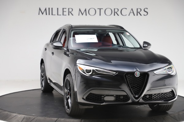 New 2020 Alfa Romeo Stelvio Sport Q4 for sale $50,795 at Alfa Romeo of Westport in Westport CT 06880 11