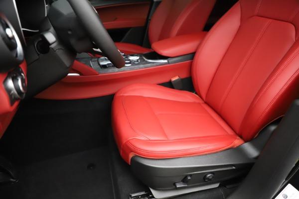 New 2020 Alfa Romeo Stelvio Sport Q4 for sale $50,795 at Alfa Romeo of Westport in Westport CT 06880 15
