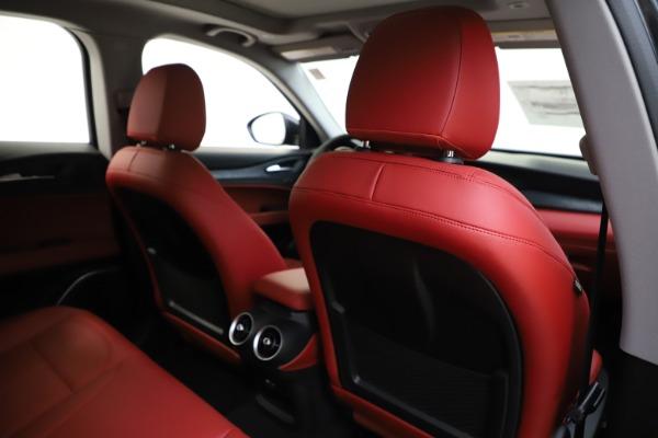 New 2020 Alfa Romeo Stelvio Sport Q4 for sale $50,795 at Alfa Romeo of Westport in Westport CT 06880 28