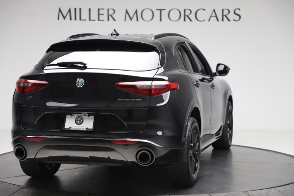 New 2020 Alfa Romeo Stelvio Sport Q4 for sale $50,795 at Alfa Romeo of Westport in Westport CT 06880 7