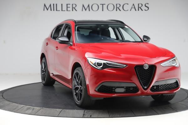New 2020 Alfa Romeo Stelvio Sport Q4 for sale $50,495 at Alfa Romeo of Westport in Westport CT 06880 11