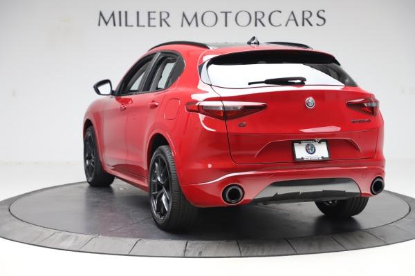 New 2020 Alfa Romeo Stelvio Sport Q4 for sale $50,495 at Alfa Romeo of Westport in Westport CT 06880 5