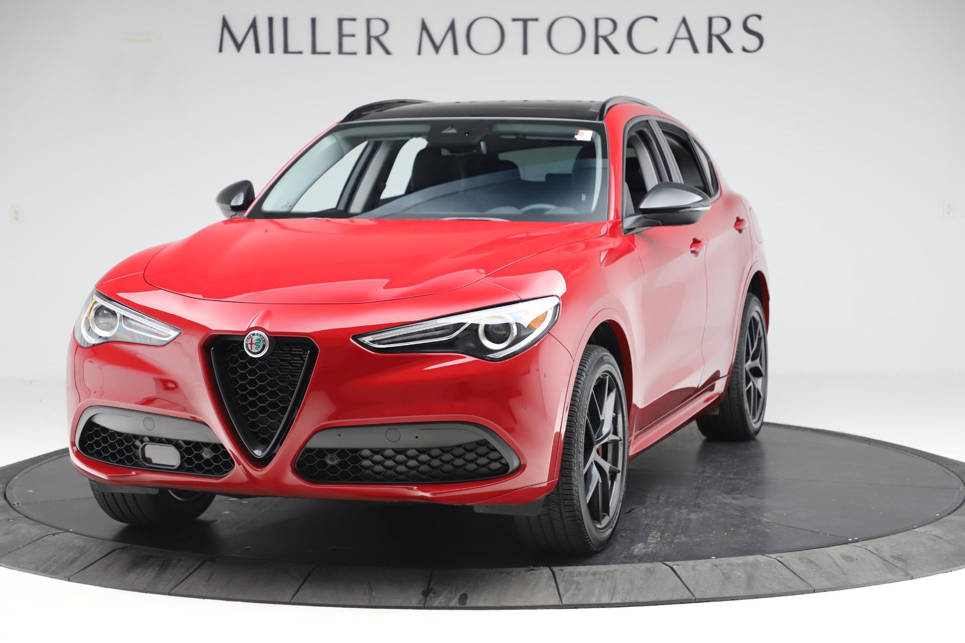New 2020 Alfa Romeo Stelvio Sport Q4 for sale $50,495 at Alfa Romeo of Westport in Westport CT 06880 1