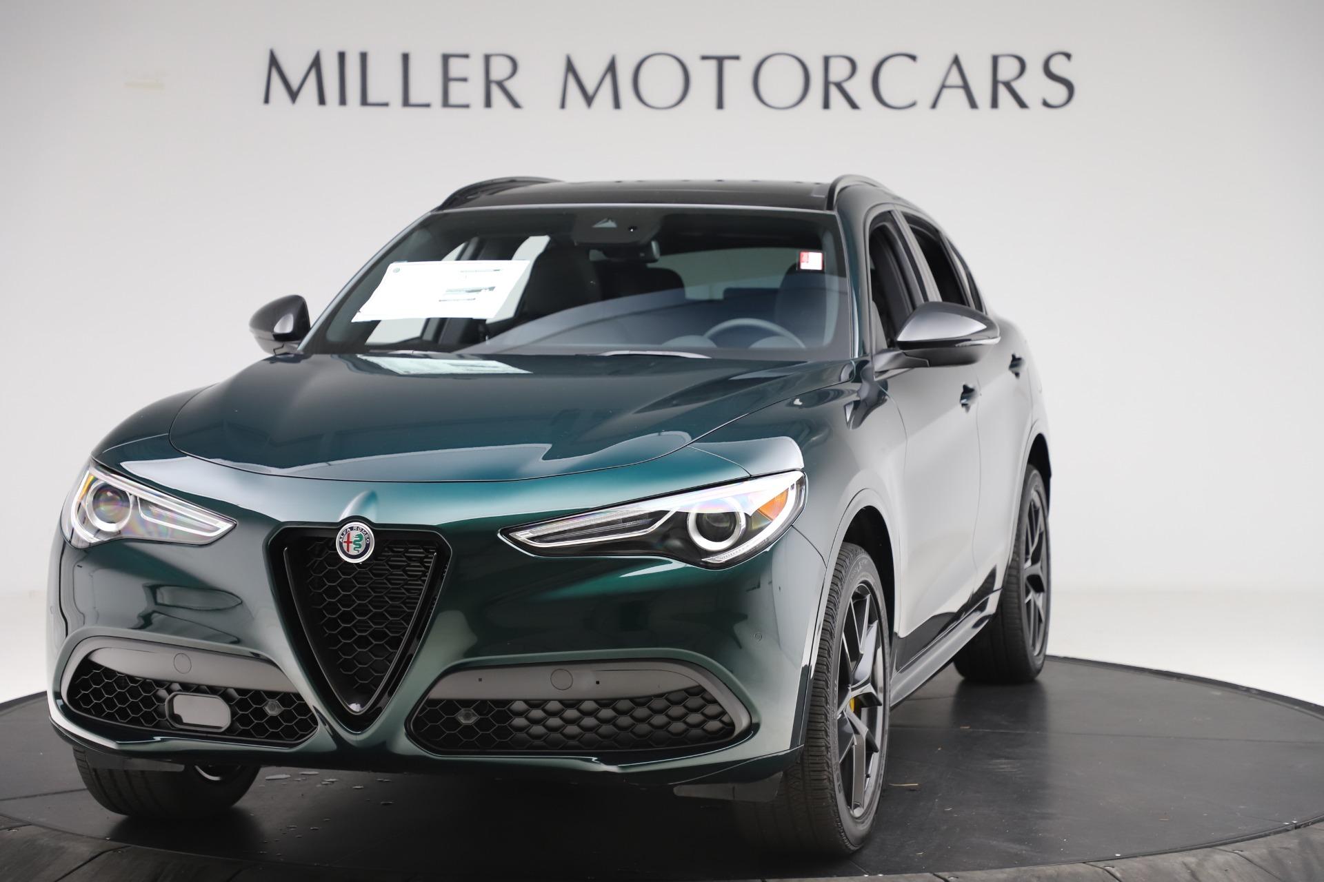New 2020 Alfa Romeo Stelvio Ti Sport Q4 for sale $55,345 at Alfa Romeo of Westport in Westport CT 06880 1