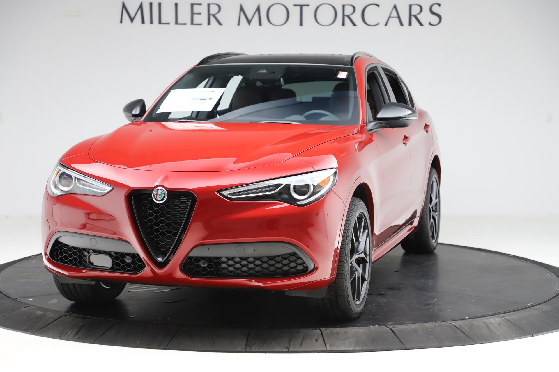 New 2020 Alfa Romeo Stelvio Ti Sport Q4 for sale $58,045 at Alfa Romeo of Westport in Westport CT 06880 1