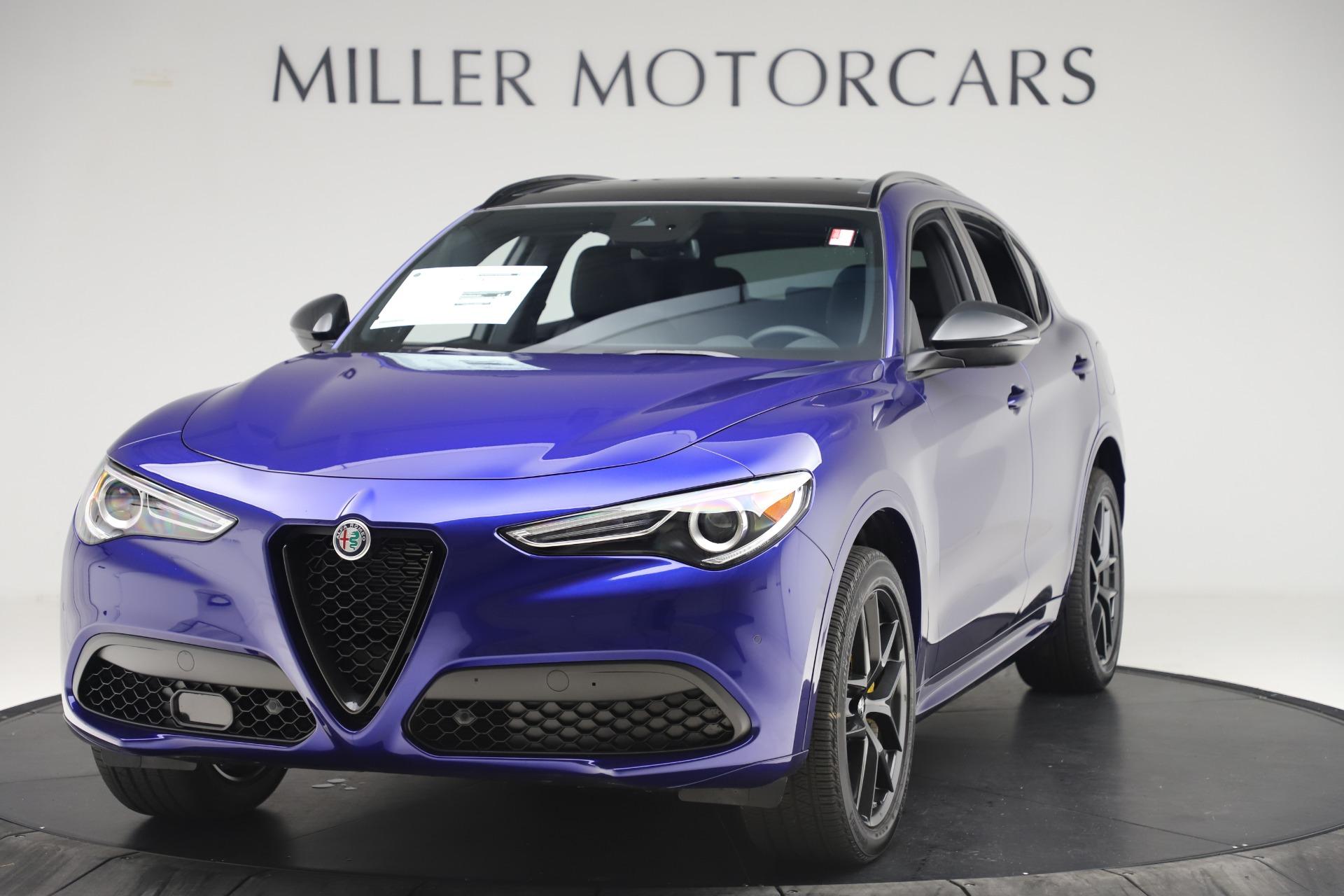 New 2020 Alfa Romeo Stelvio Ti Sport Q4 for sale $57,945 at Alfa Romeo of Westport in Westport CT 06880 1