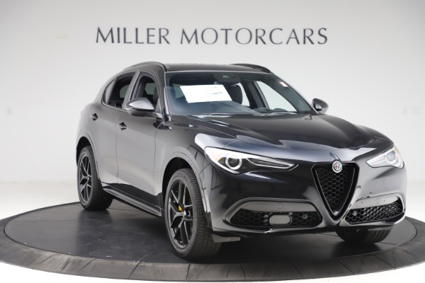 New 2020 Alfa Romeo Stelvio Ti Sport Q4 for sale Sold at Alfa Romeo of Westport in Westport CT 06880 11