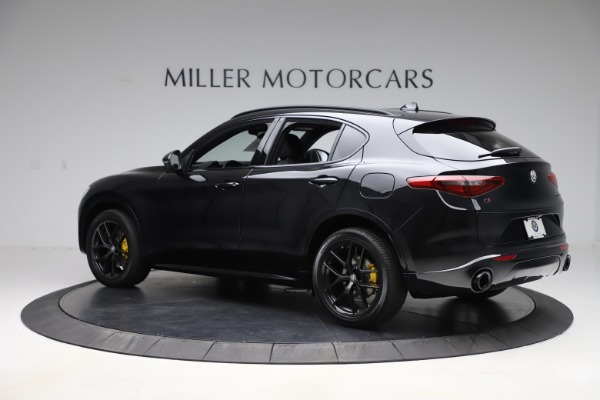 New 2020 Alfa Romeo Stelvio Ti Sport Q4 for sale Sold at Alfa Romeo of Westport in Westport CT 06880 4