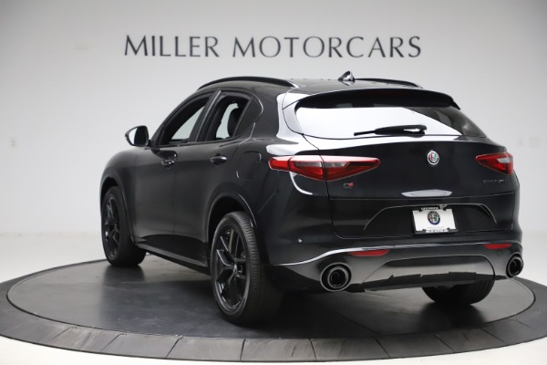 New 2020 Alfa Romeo Stelvio Ti Sport Q4 for sale Sold at Alfa Romeo of Westport in Westport CT 06880 5