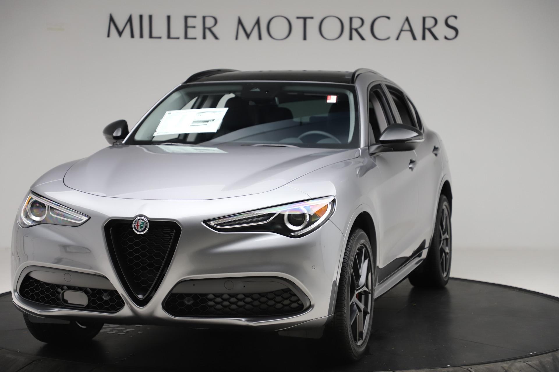 New 2020 Alfa Romeo Stelvio Sport Q4 for sale $51,095 at Alfa Romeo of Westport in Westport CT 06880 1