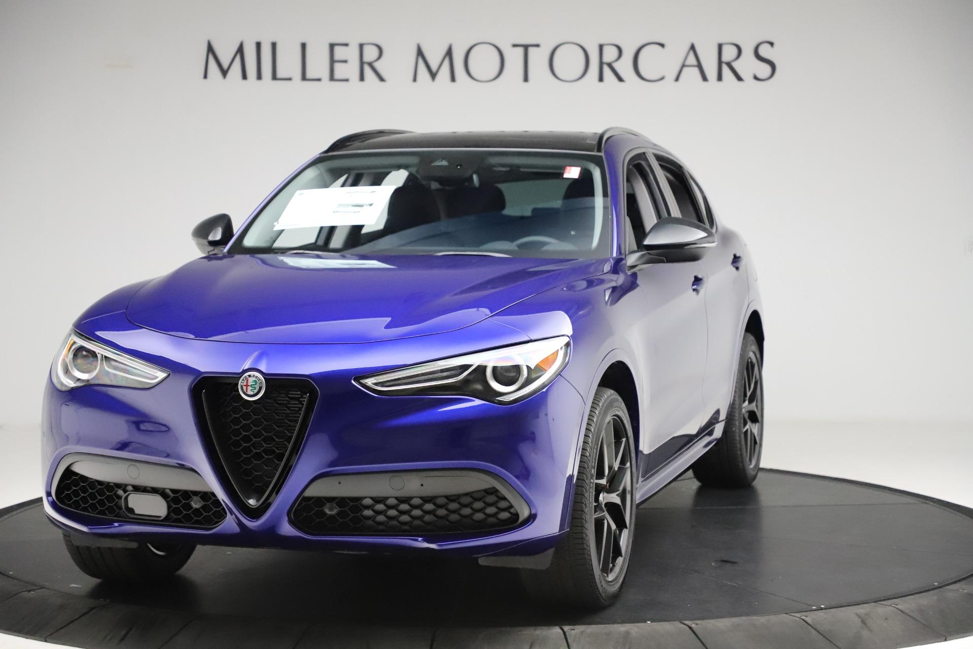 New 2020 Alfa Romeo Stelvio Ti Q4 for sale $52,145 at Alfa Romeo of Westport in Westport CT 06880 1