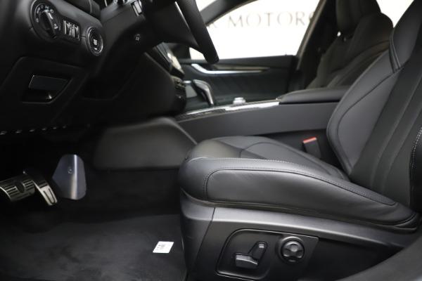 New 2019 Maserati Ghibli SQ4 GranSport for sale $100,695 at Alfa Romeo of Westport in Westport CT 06880 14