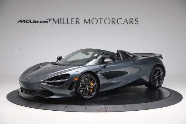 New 2020 McLaren 720S Spider Performance for sale $384,930 at Alfa Romeo of Westport in Westport CT 06880 1