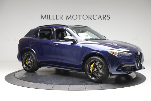 New 2020 Alfa Romeo Stelvio Quadrifoglio for sale $88,845 at Alfa Romeo of Westport in Westport CT 06880 10