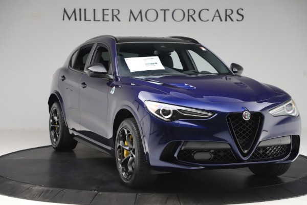 New 2020 Alfa Romeo Stelvio Quadrifoglio for sale $88,845 at Alfa Romeo of Westport in Westport CT 06880 11