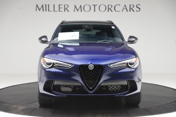 New 2020 Alfa Romeo Stelvio Quadrifoglio for sale $88,845 at Alfa Romeo of Westport in Westport CT 06880 12