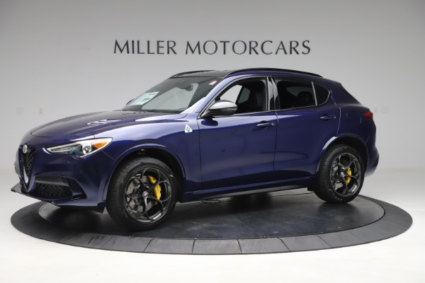 New 2020 Alfa Romeo Stelvio Quadrifoglio for sale $88,845 at Alfa Romeo of Westport in Westport CT 06880 2