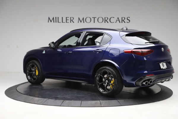 New 2020 Alfa Romeo Stelvio Quadrifoglio for sale $88,845 at Alfa Romeo of Westport in Westport CT 06880 4
