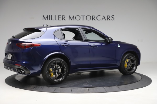 New 2020 Alfa Romeo Stelvio Quadrifoglio for sale $88,845 at Alfa Romeo of Westport in Westport CT 06880 8