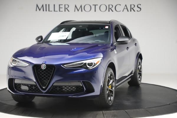 New 2020 Alfa Romeo Stelvio Quadrifoglio for sale $88,845 at Alfa Romeo of Westport in Westport CT 06880 1