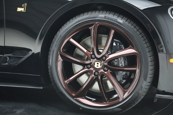 New 2020 Bentley Continental GTC Number 1 Edition for sale $331,585 at Alfa Romeo of Westport in Westport CT 06880 22