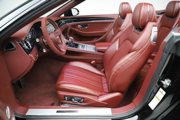 New 2020 Bentley Continental GTC Number 1 Edition for sale $331,585 at Alfa Romeo of Westport in Westport CT 06880 27