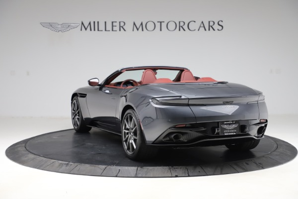 New 2020 Aston Martin DB11 Volante Convertible for sale $263,681 at Alfa Romeo of Westport in Westport CT 06880 6