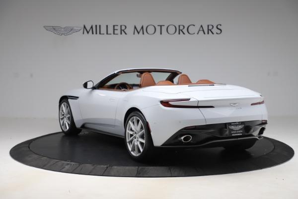 New 2020 Aston Martin DB11 Volante Convertible for sale $244,066 at Alfa Romeo of Westport in Westport CT 06880 6