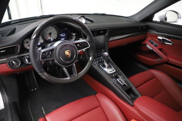 Used 2017 Porsche 911 Turbo S for sale $154,900 at Alfa Romeo of Westport in Westport CT 06880 13