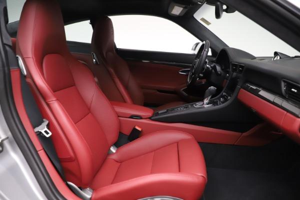 Used 2017 Porsche 911 Turbo S for sale $154,900 at Alfa Romeo of Westport in Westport CT 06880 18
