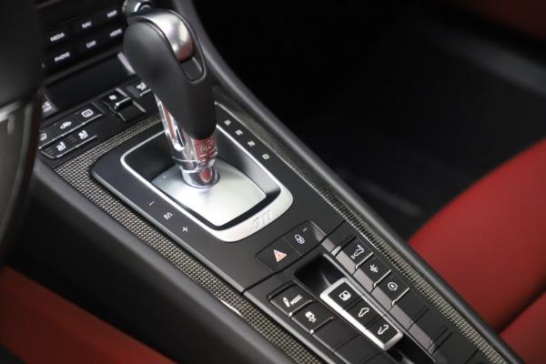 Used 2017 Porsche 911 Turbo S for sale $154,900 at Alfa Romeo of Westport in Westport CT 06880 22