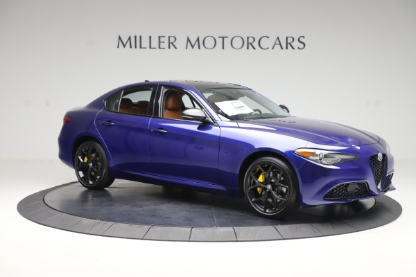 New 2020 Alfa Romeo Giulia Ti Q4 for sale $51,145 at Alfa Romeo of Westport in Westport CT 06880 10